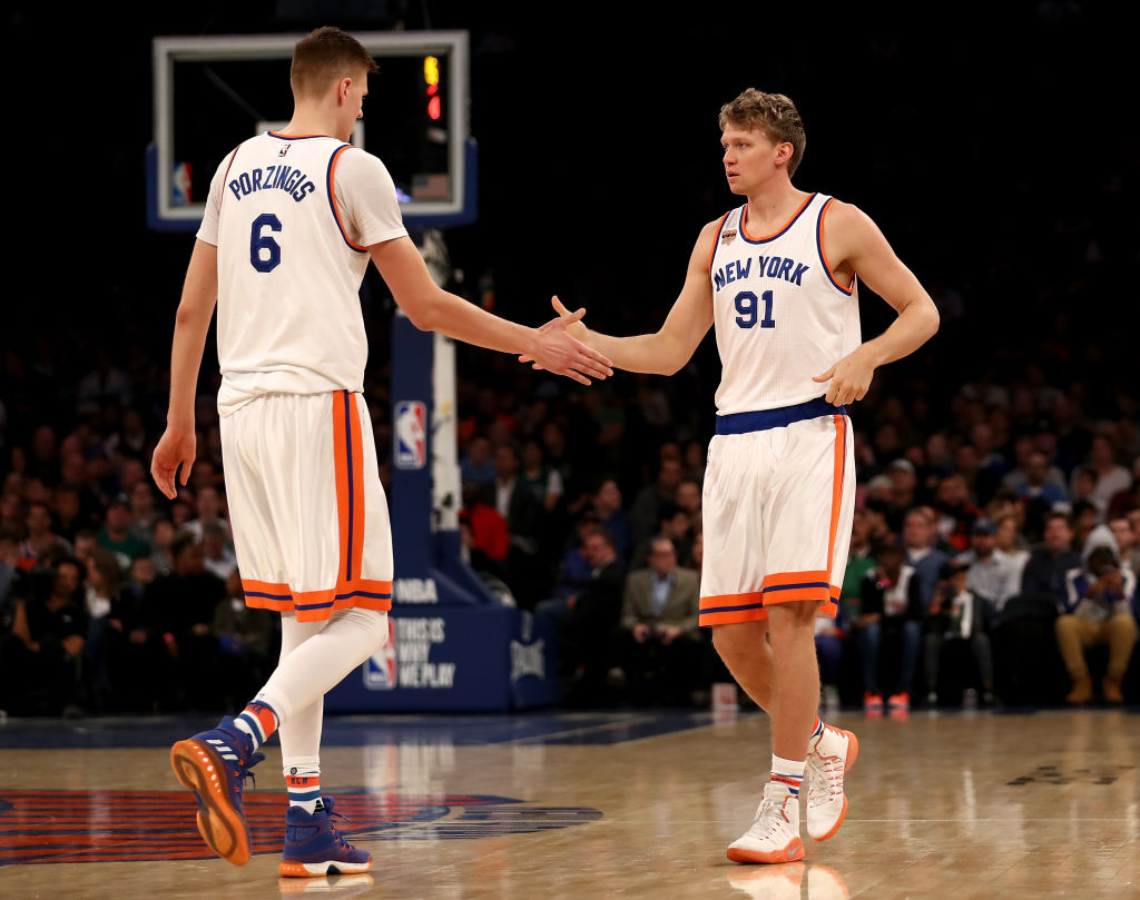 Kuz: Knicks and Kristaps Porzingis Have Resolved Any Issues