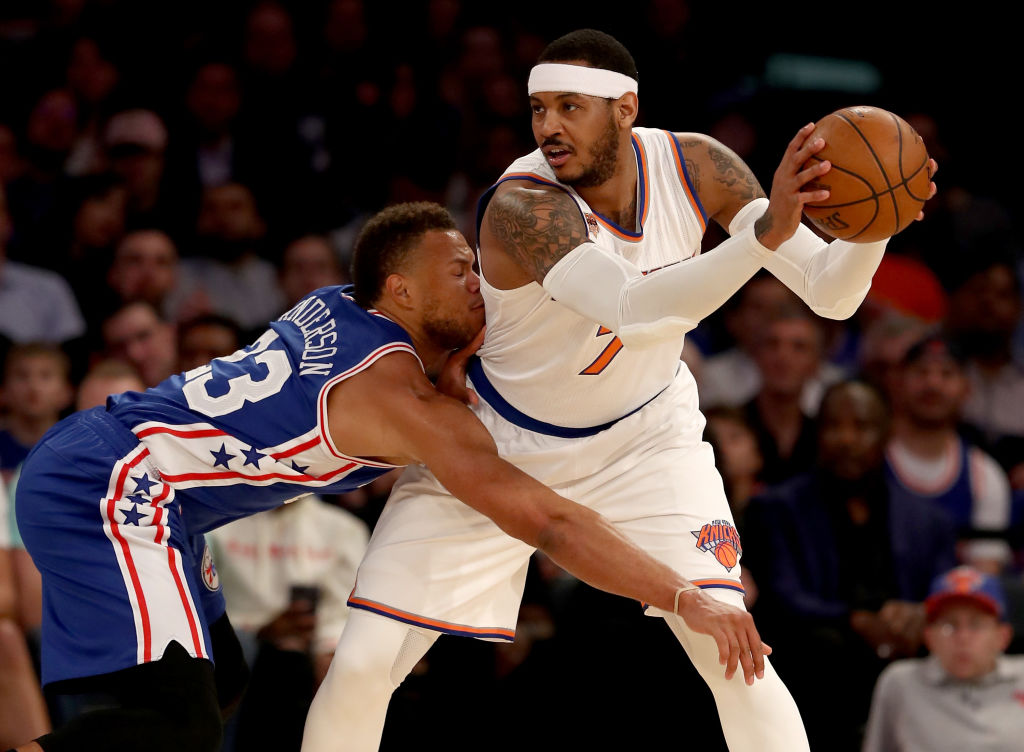 Knicks leave Carmelo Anthony off season ticket plan promotion