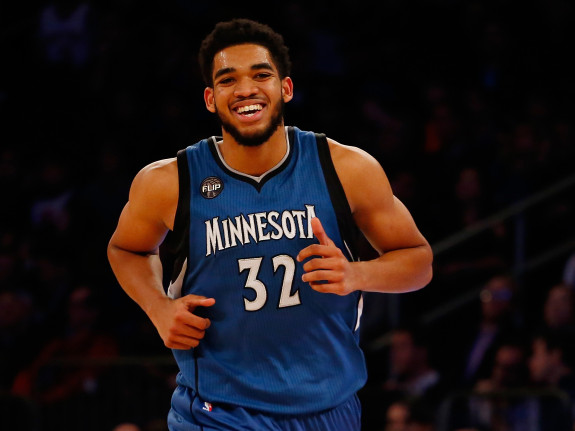 Karl-Anthony Towns; Efficiency extraordinaire