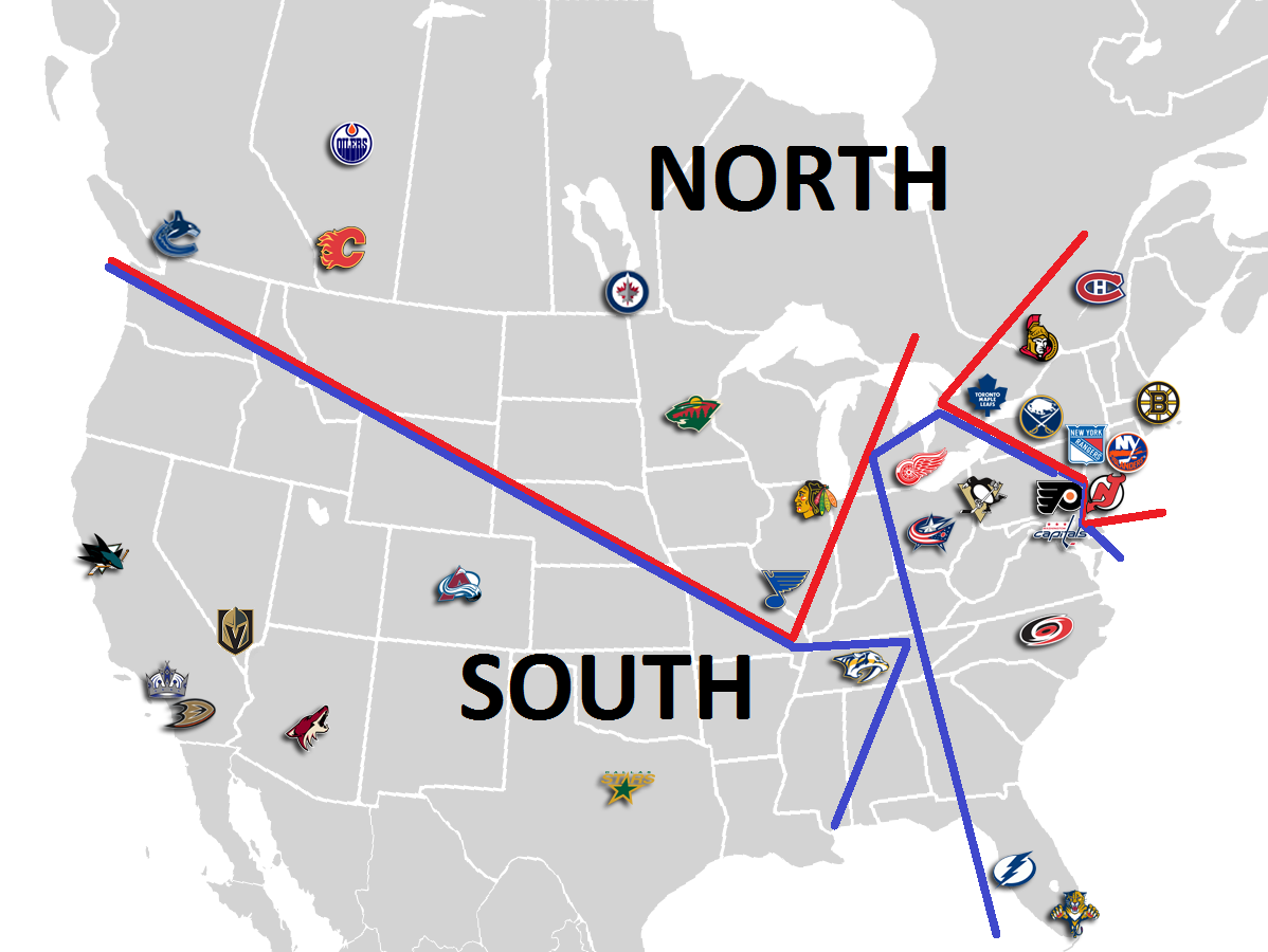Rethinking the NHL: Your South Conference Champion Penguins?