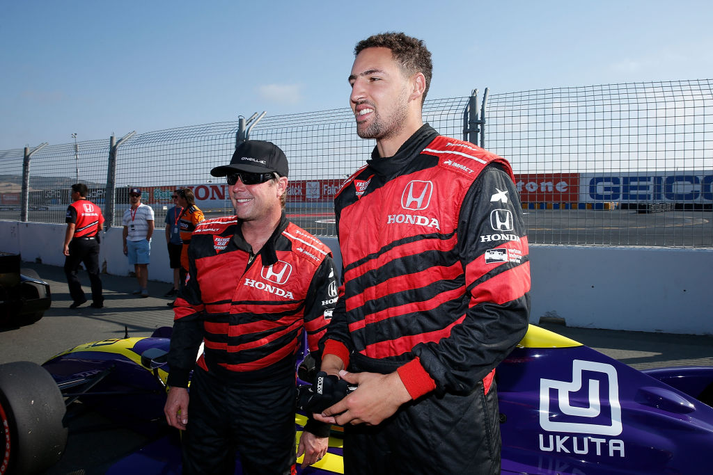 Klay Thompson Q&A (WITH VIDEO) at Sonoma Raceway before acting as Grand Marshal for the GoPro Grand Prix