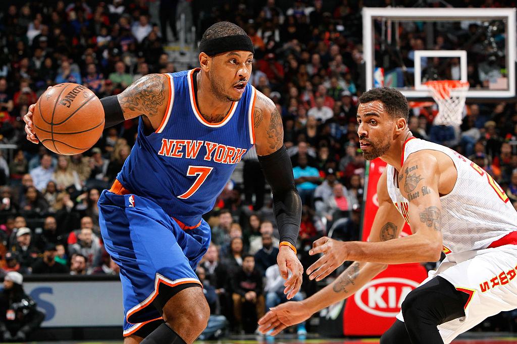 Carmelo Anthony preparing for new NBA season with Knicks teammates