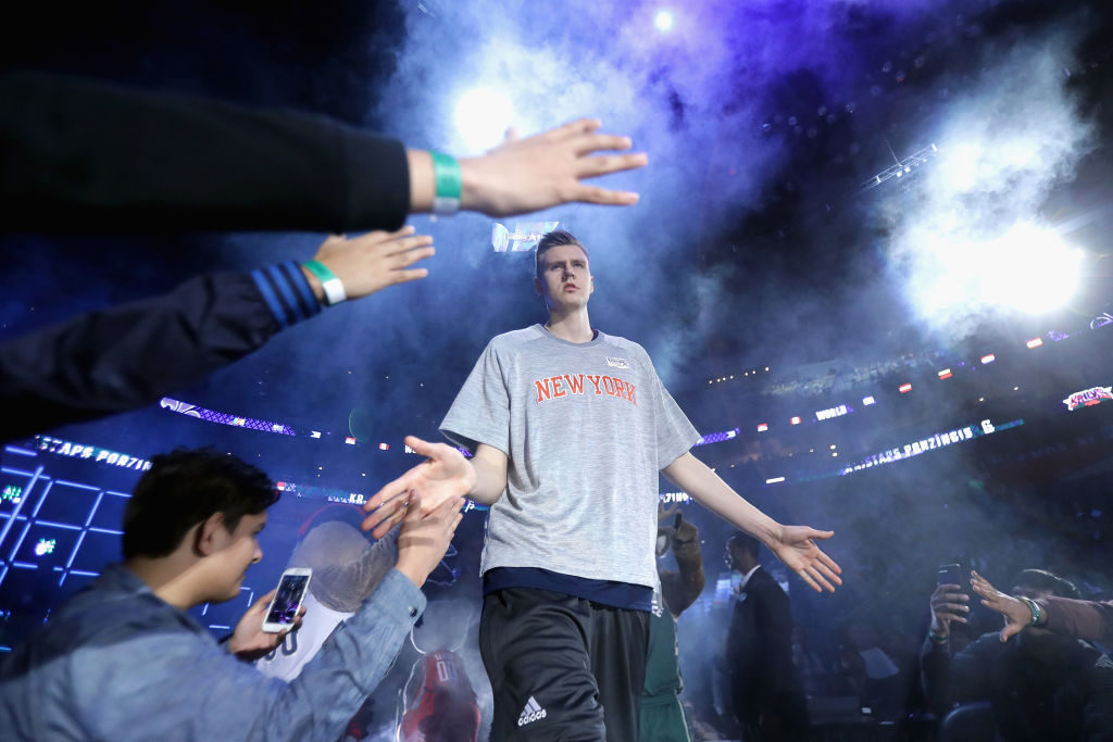 Kristaps Porzingis rises above the (NBA all)-stars in ESPN player rankings