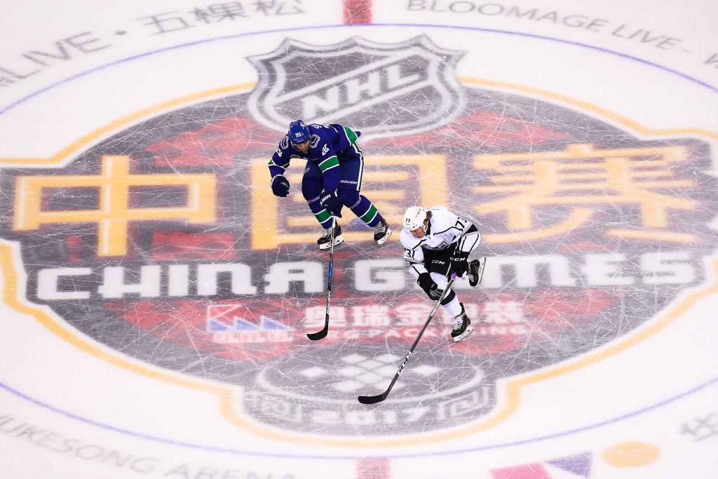LA Kings Help Grow Hockey In China