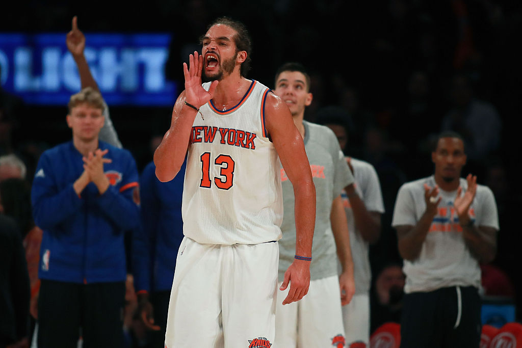 Joakim Noah earning early praise from Knicks staff in training camp