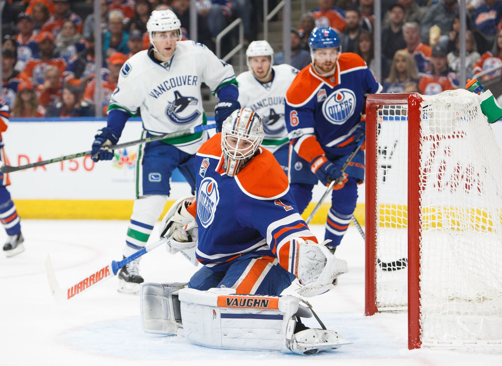 Oilers fall to Canucks despite heroics from Brossoit