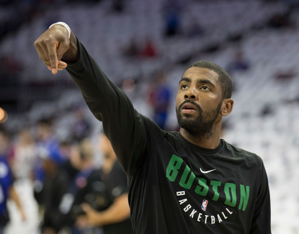 "LOCKED ON CELTICS: ""Real"" Kyrie and a mailbag"