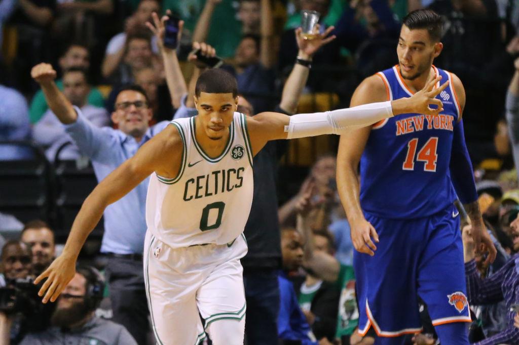 Rare Willy Hernangomez sighting not enough to lift Knicks over Celtics