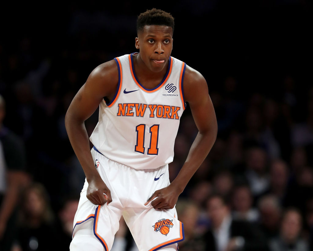 Frank Ntilikina and Jarrett Jack Lead Knicks To First Win Of Season