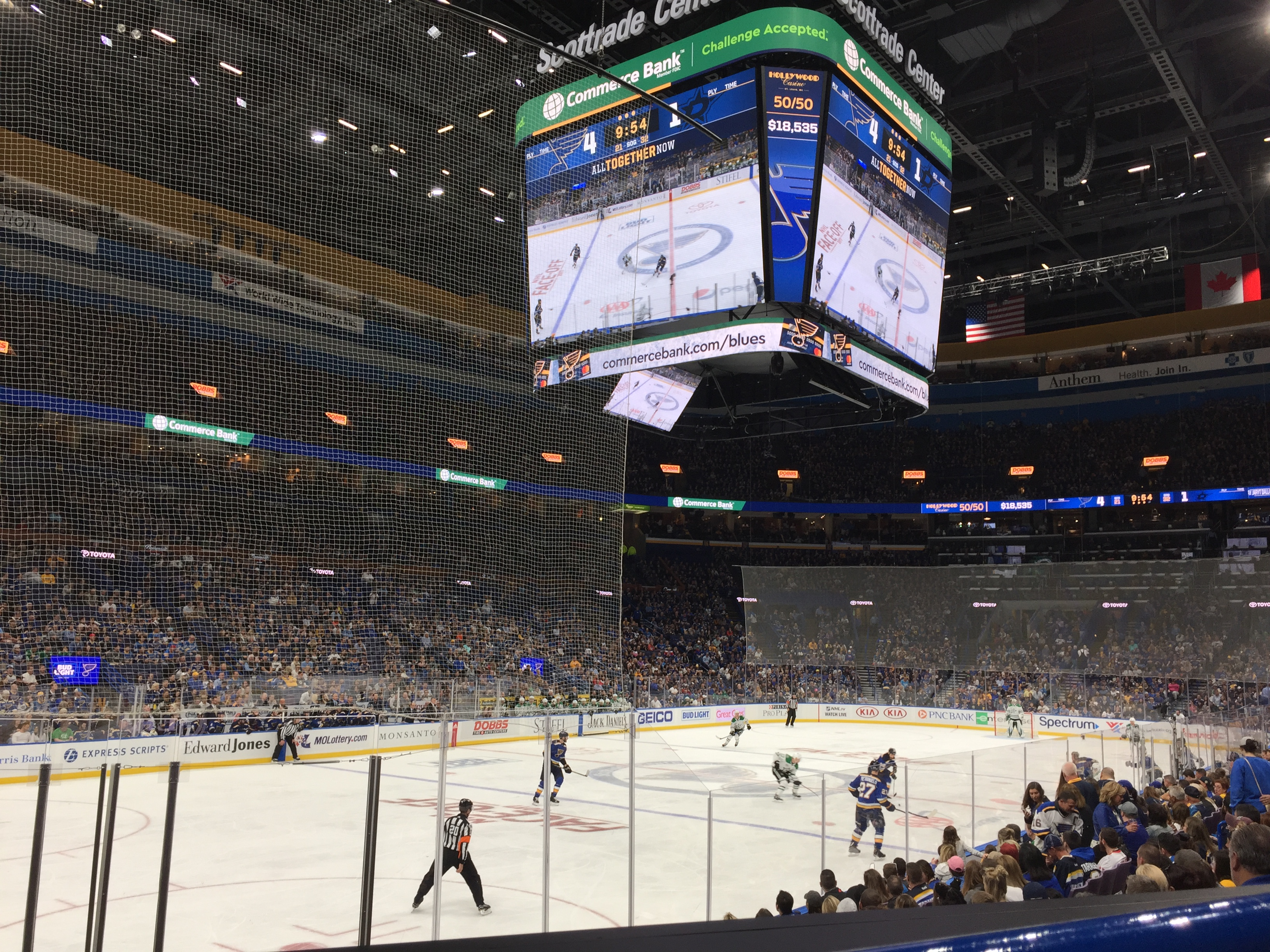 10 thoughts on the Blues opener, food and renovations at Scottrade