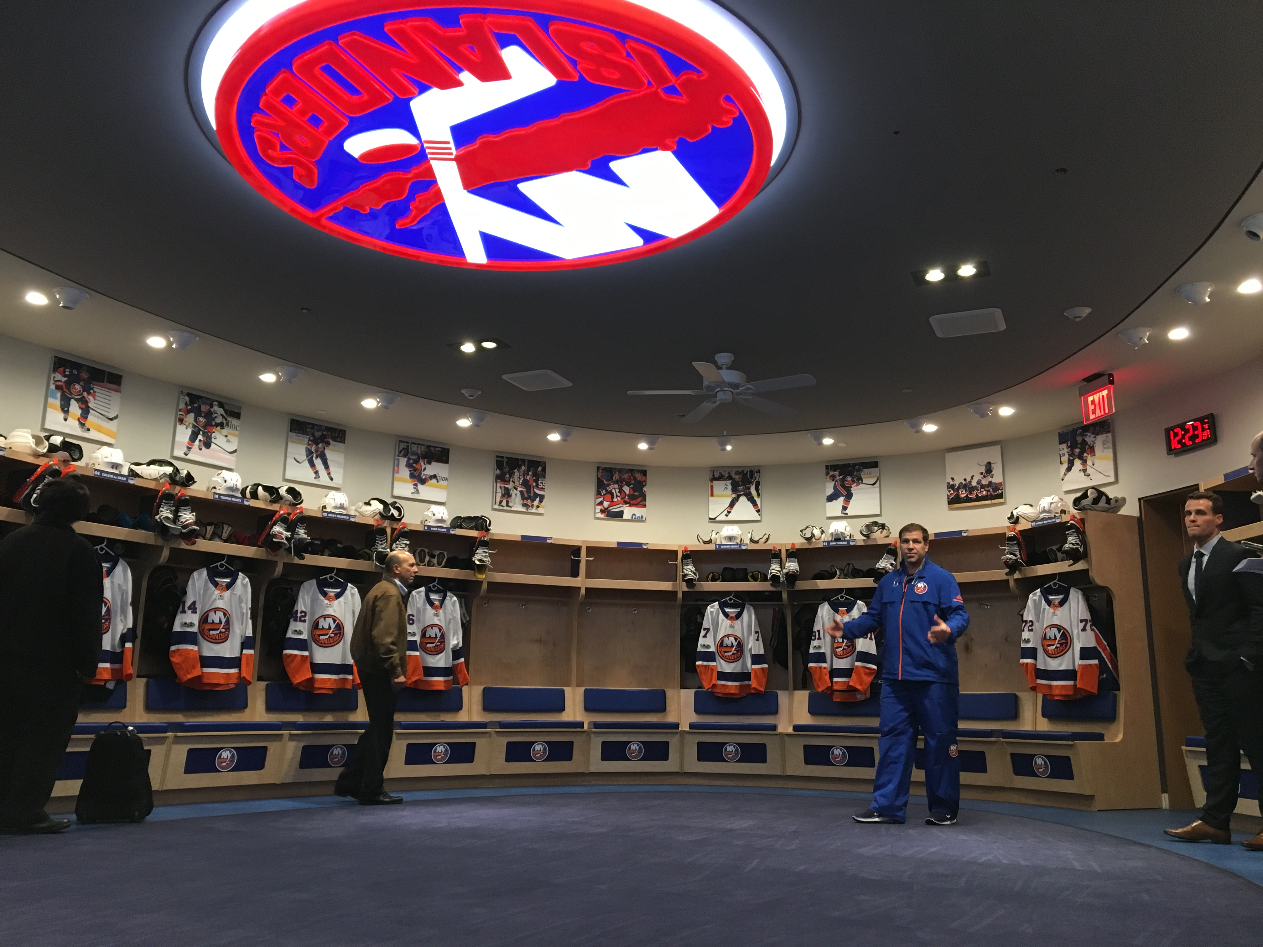 Renovated Practice Facility a Glimpse of What Could be for Islanders at Belmont