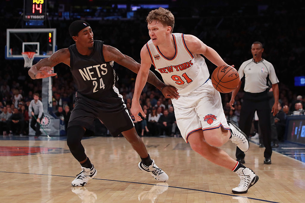 Knicks Make Room For Joakim Noah By Waiving Mindaugas Kuzminskas