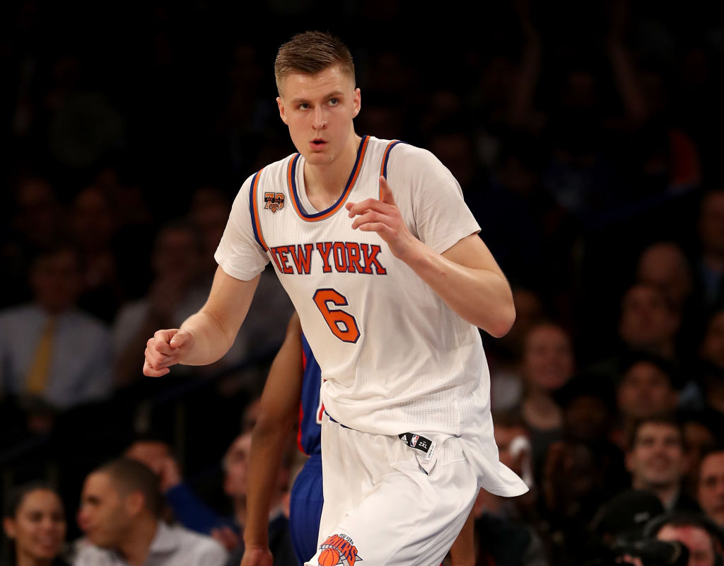 Kristaps Porzingis Gives Knicks A Scare, Enes Kanter Secures Victory
