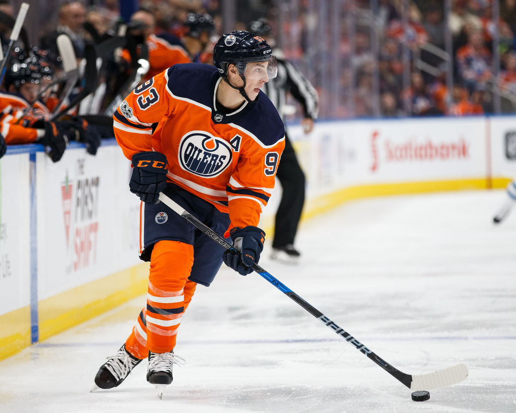 Oilers Taking Cautious Approach With Ryan Nugent-Hopkins