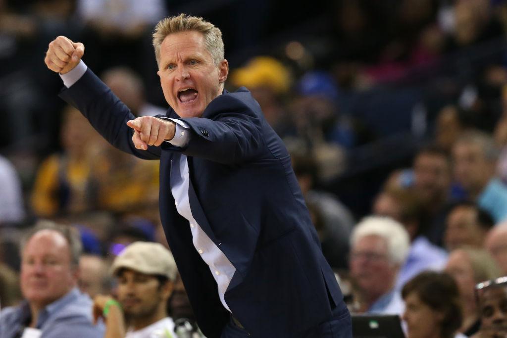 Warriors coach Steve Kerr trying psychological warfare on Celtics