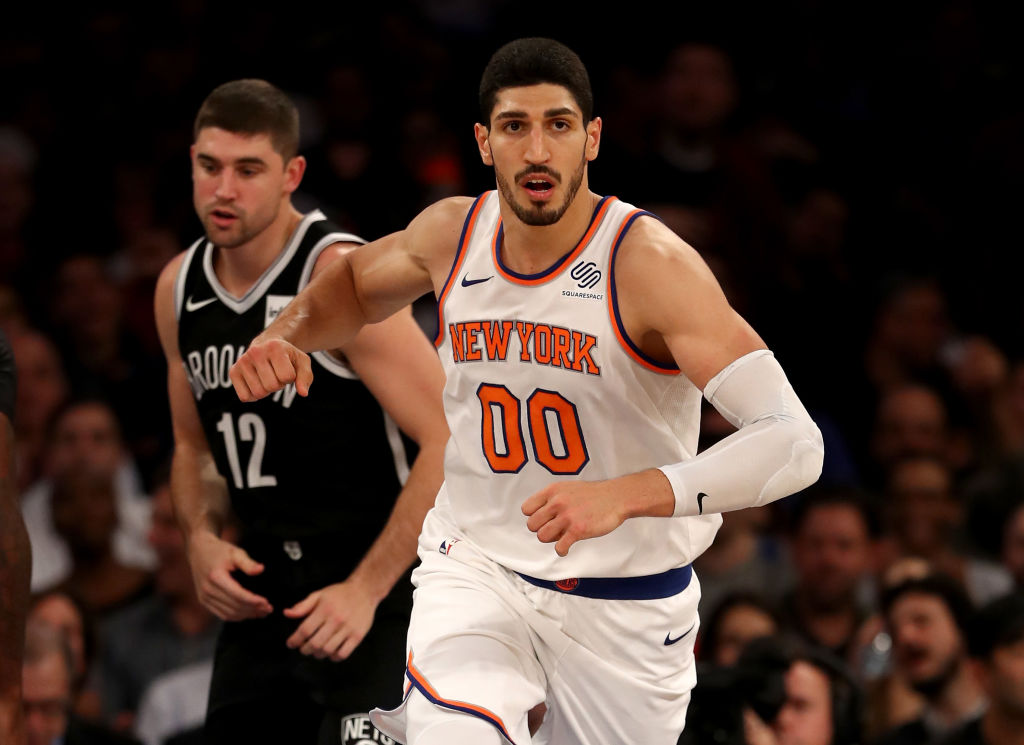 Enes Kanter's Absence Proves Dire (And His Value) For Knicks