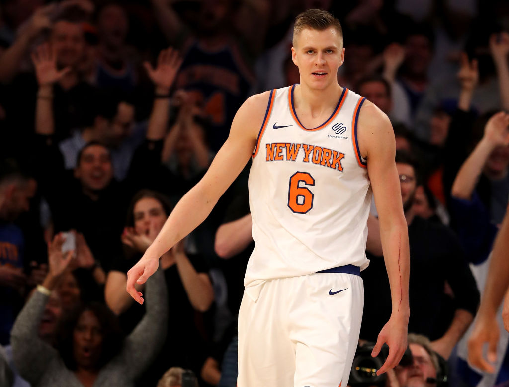 Knicks' frontline begins to show dominance in win over Suns
