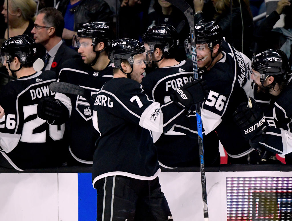 Oscar Fantenberg is 4th Kings Player to Score First NHL Goal this Season