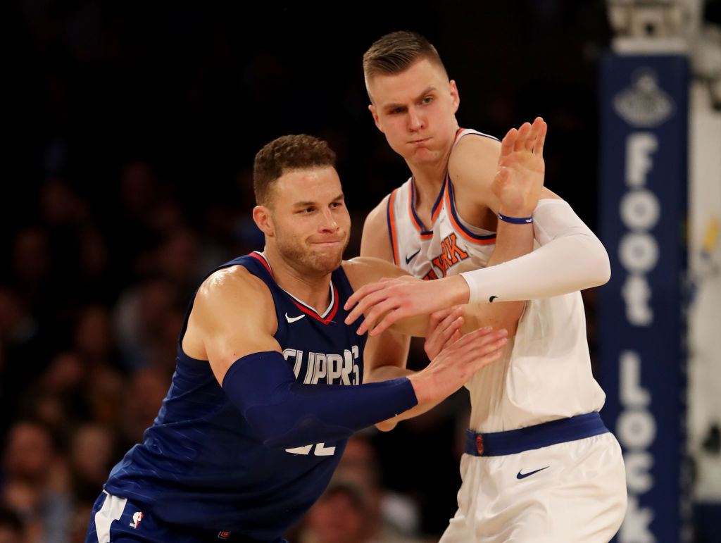Kristaps Porzingis Finds Late Groove As Knicks Beat Clippers