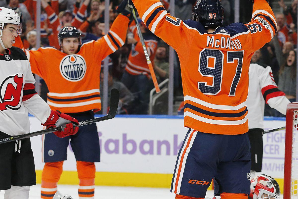 Woke Up This Morning: Oilers Gameday - @ Devils