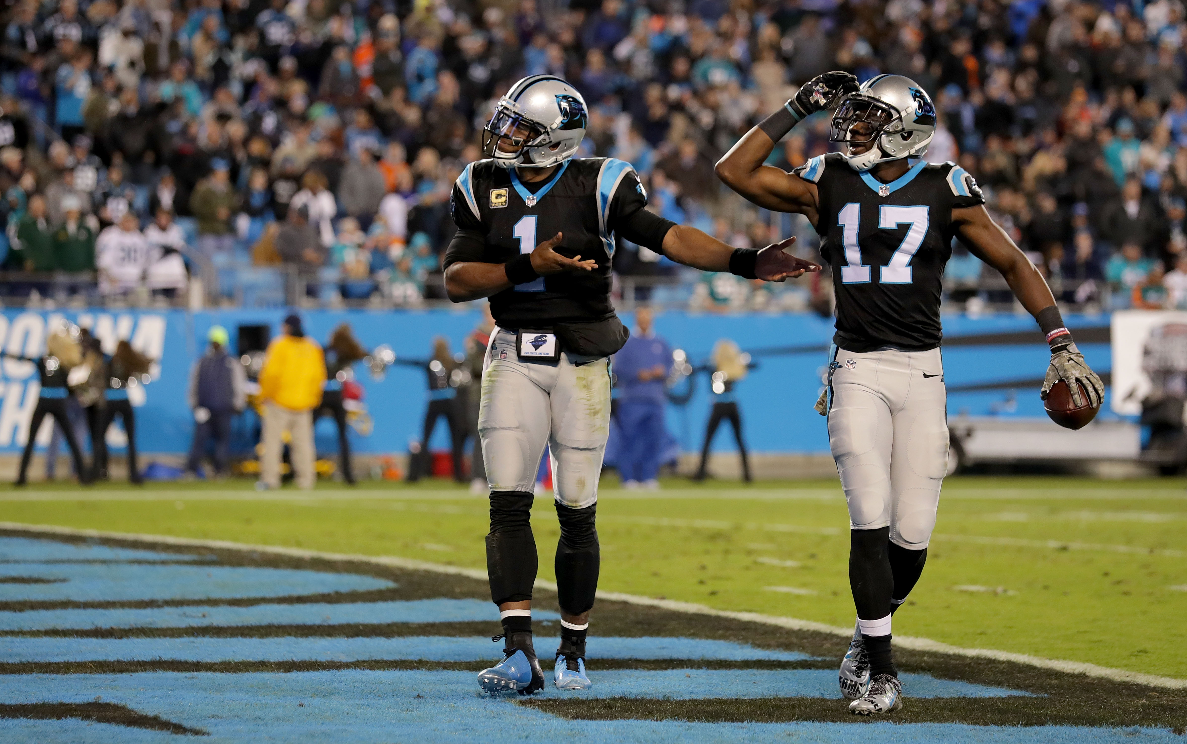 The Panthers zone-read offense dominated the Dolphins