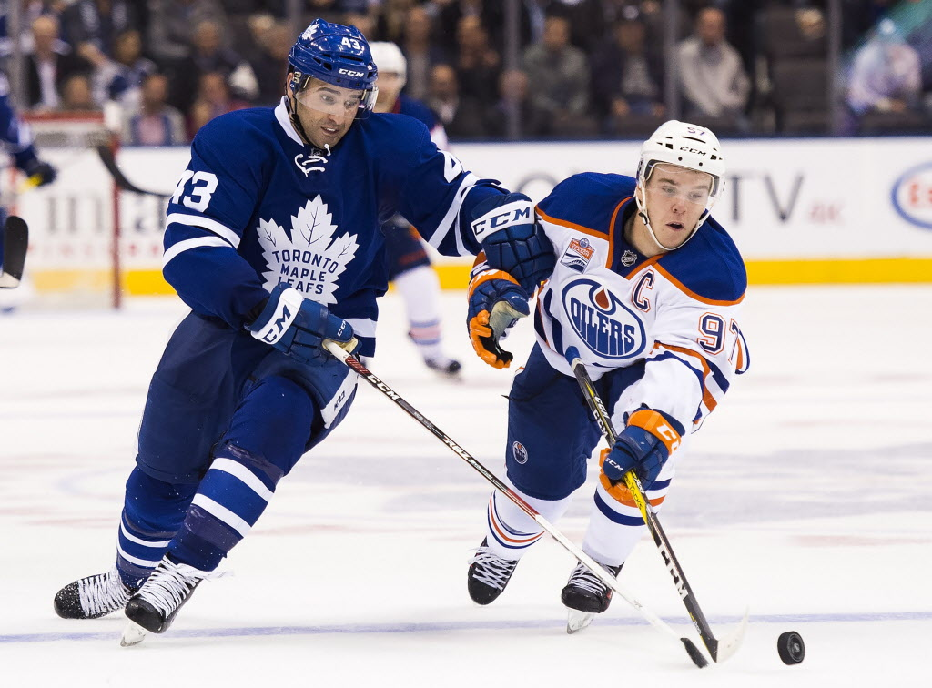 Connor McDavid Discusses Tough First Two Games Vs. Toronto