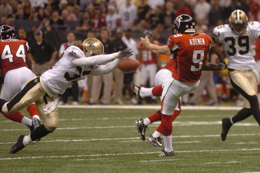 Saints and Falcons Rivalry Part 1