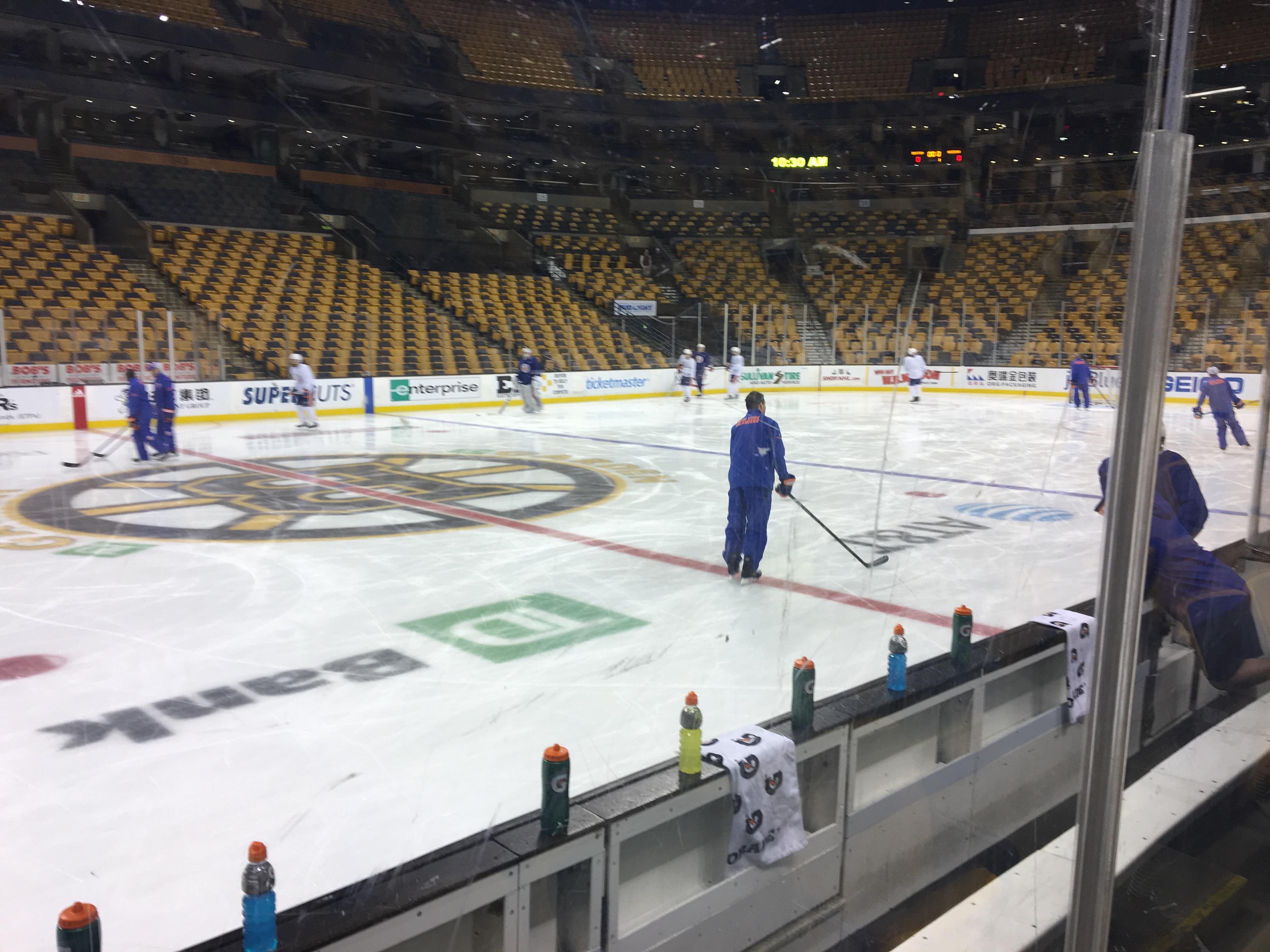 Islanders Pregame: Isles End Four-Game Road Trip in Boston