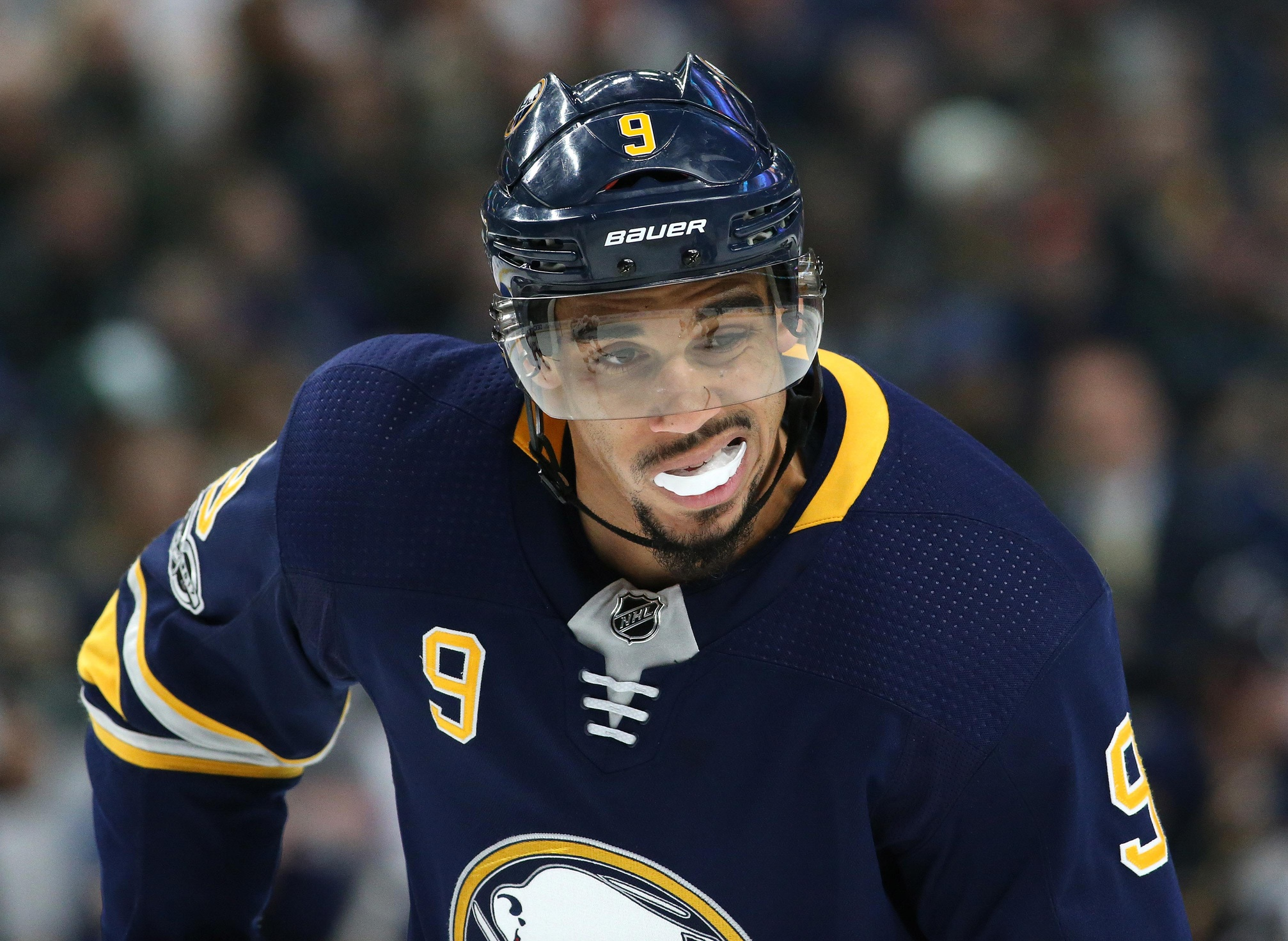 The Blues are reportedly interested in Evander Kane
