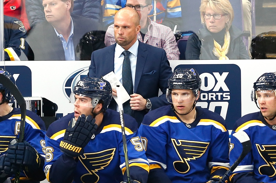 """Mike Yeo on Blues of late: """"We're just not good enough"""""""
