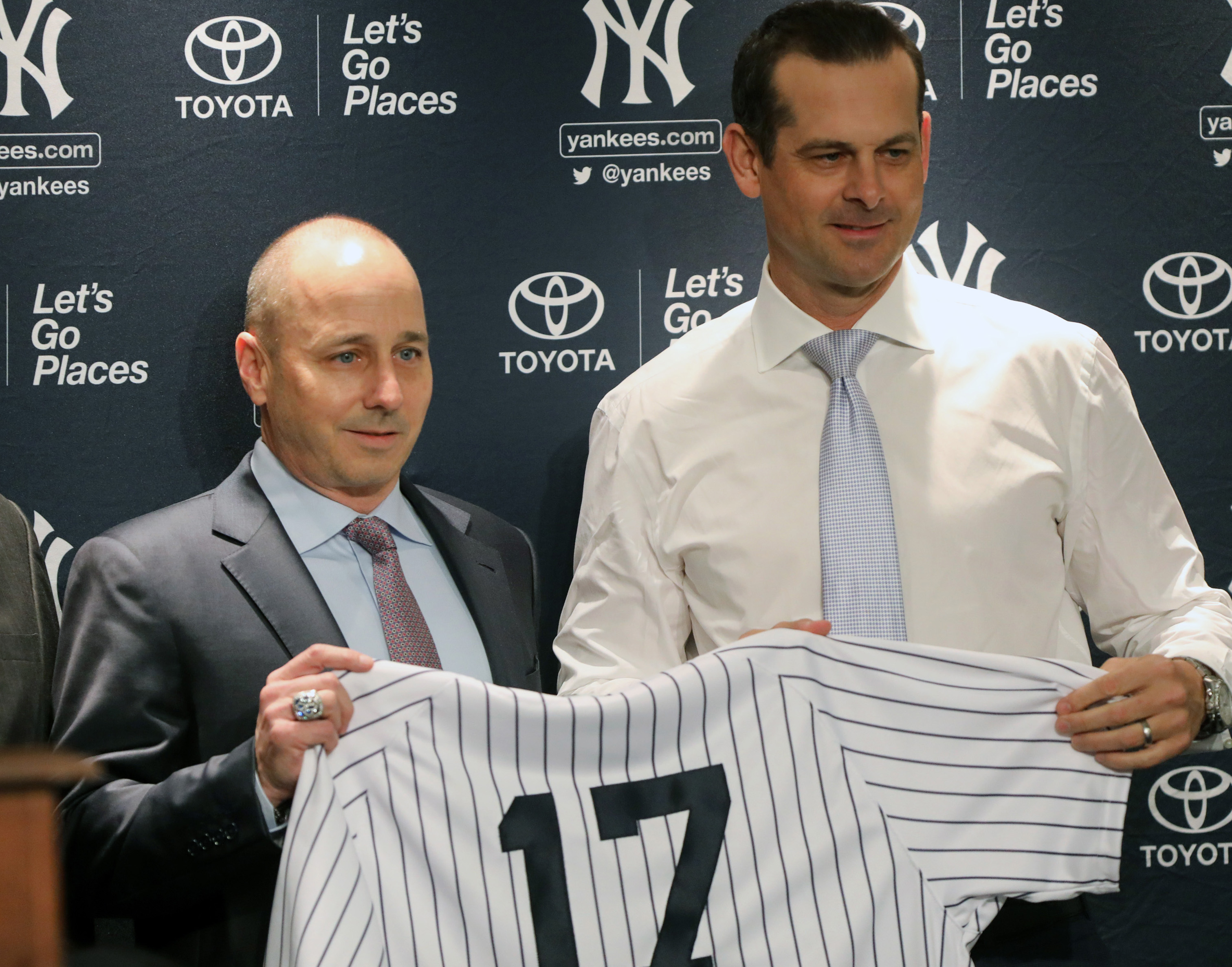 Is Aaron Boone going to be Brian Cashman's puppet?