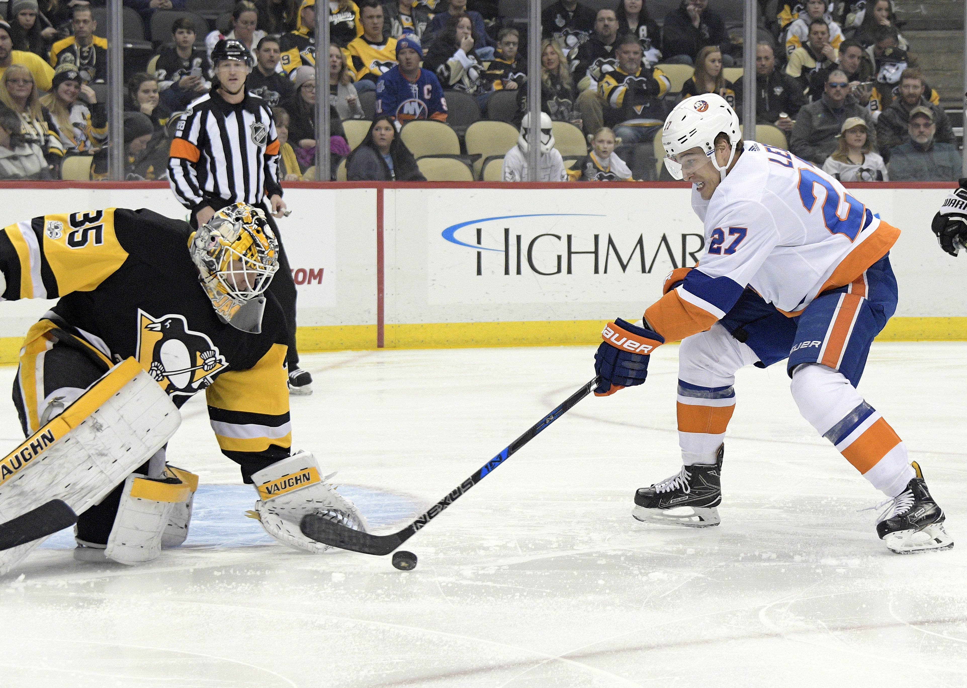 Isles Insights: Islanders Rally Late but Fall Short in 4-3 OT Loss to Pens