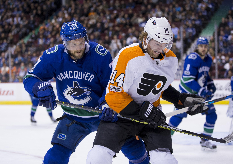 Analysis: Flyers beat Canucks 4-1