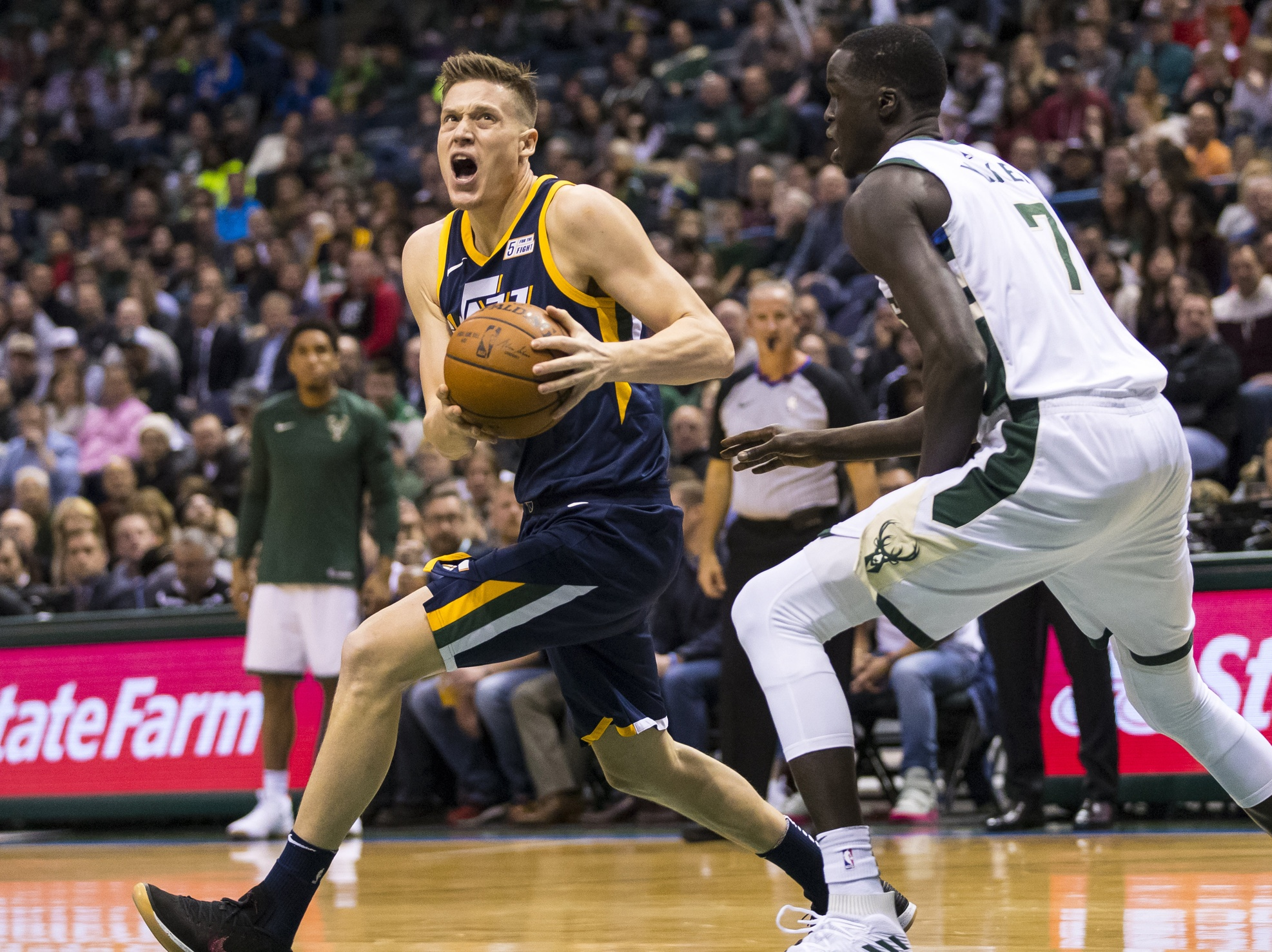 Jazz stroll into Boston for ... Jerebko revenge game