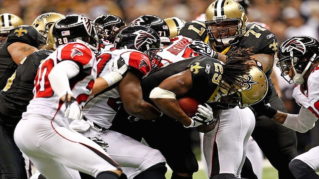 Saints and Falcons Rivalry Part 2