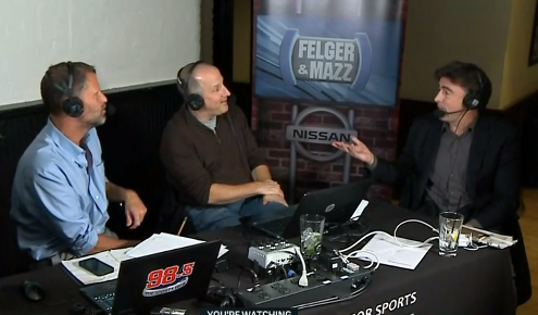 Wyc Grousbeck goes on Felger & Mazz, calls them stupid to their faces