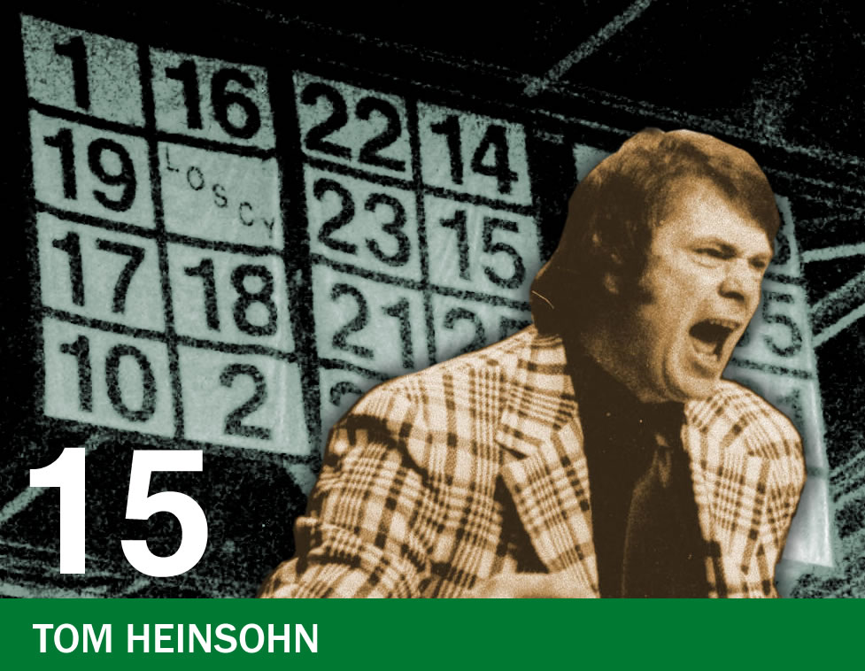 The Retired Numbers Project: Number 15 – Tommy Heinsohn