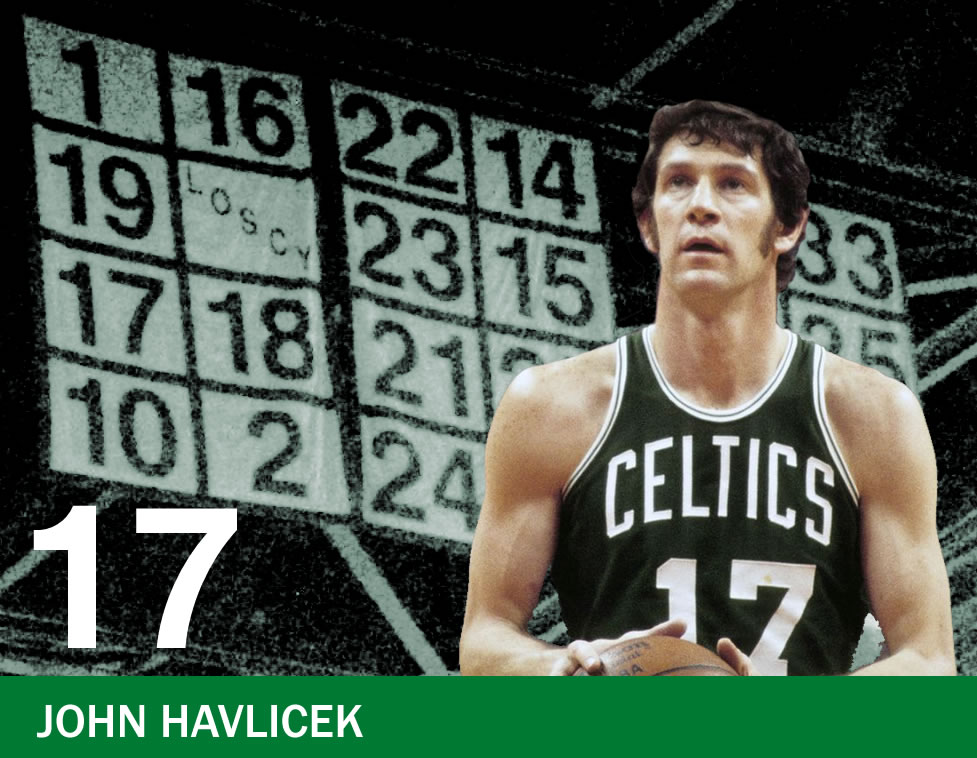 The Retired Numbers Project: Number 17 – John Havlicek