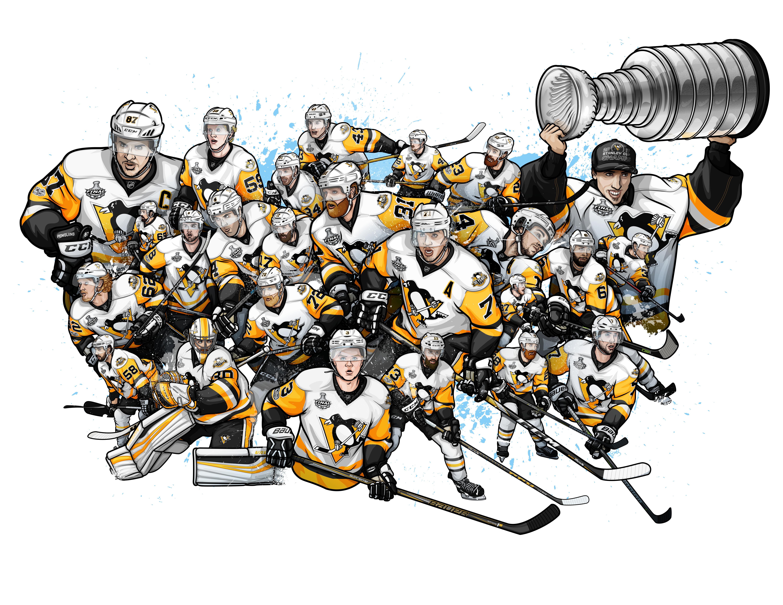 2017 Stanley Cup Illustration