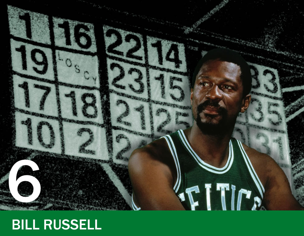 The Retired Numbers Project: Number 6 – Bill Russell