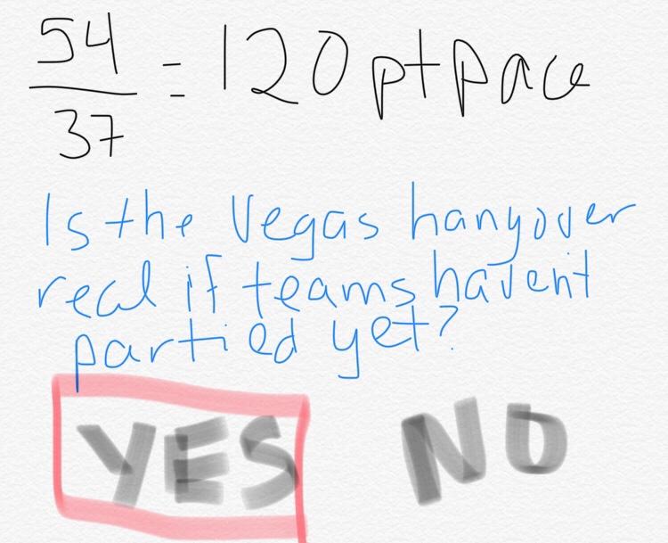 Oilers Gameday @ Vegas: We're Goin' Streaking!