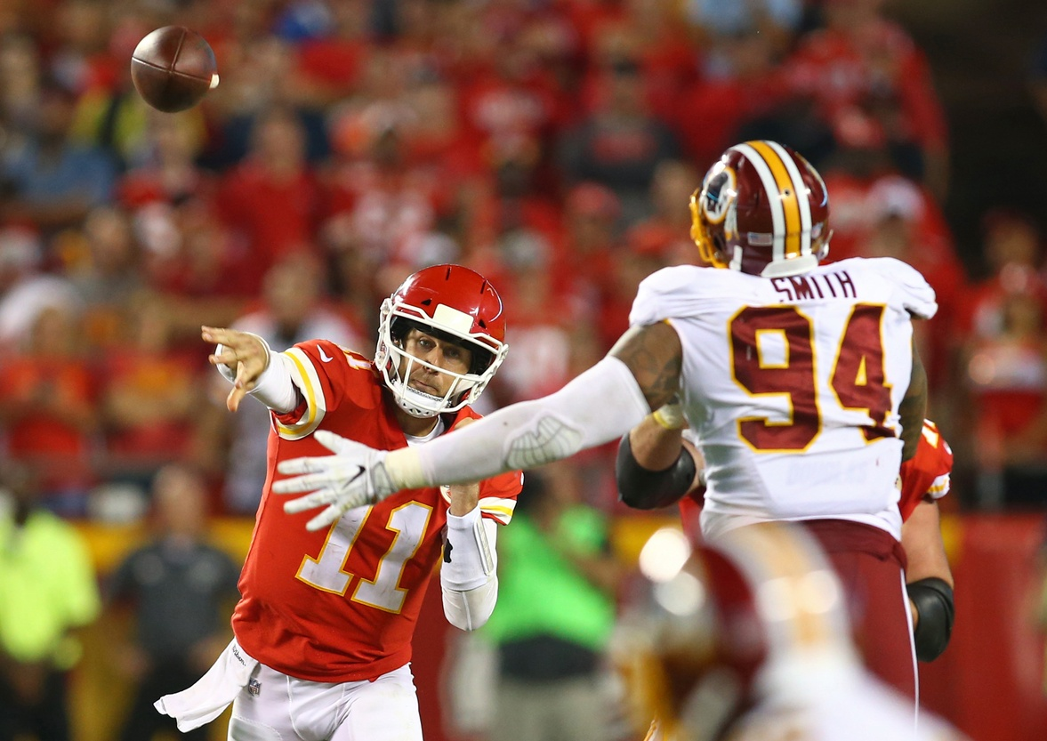 Alex Smith, Kirk Cousins and the Redskins, there is always more to the story.