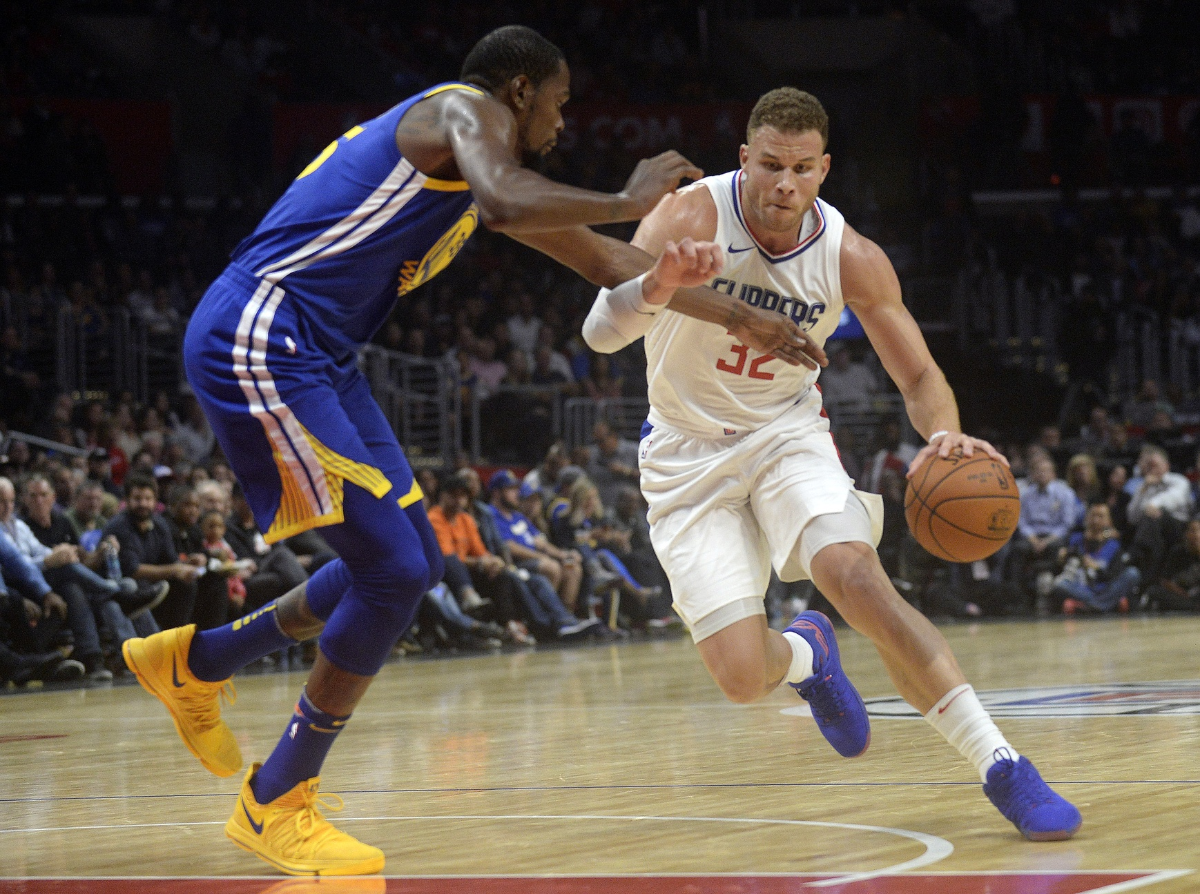 Short-handed Clippers Look To Defeat Defending Champion Warriors