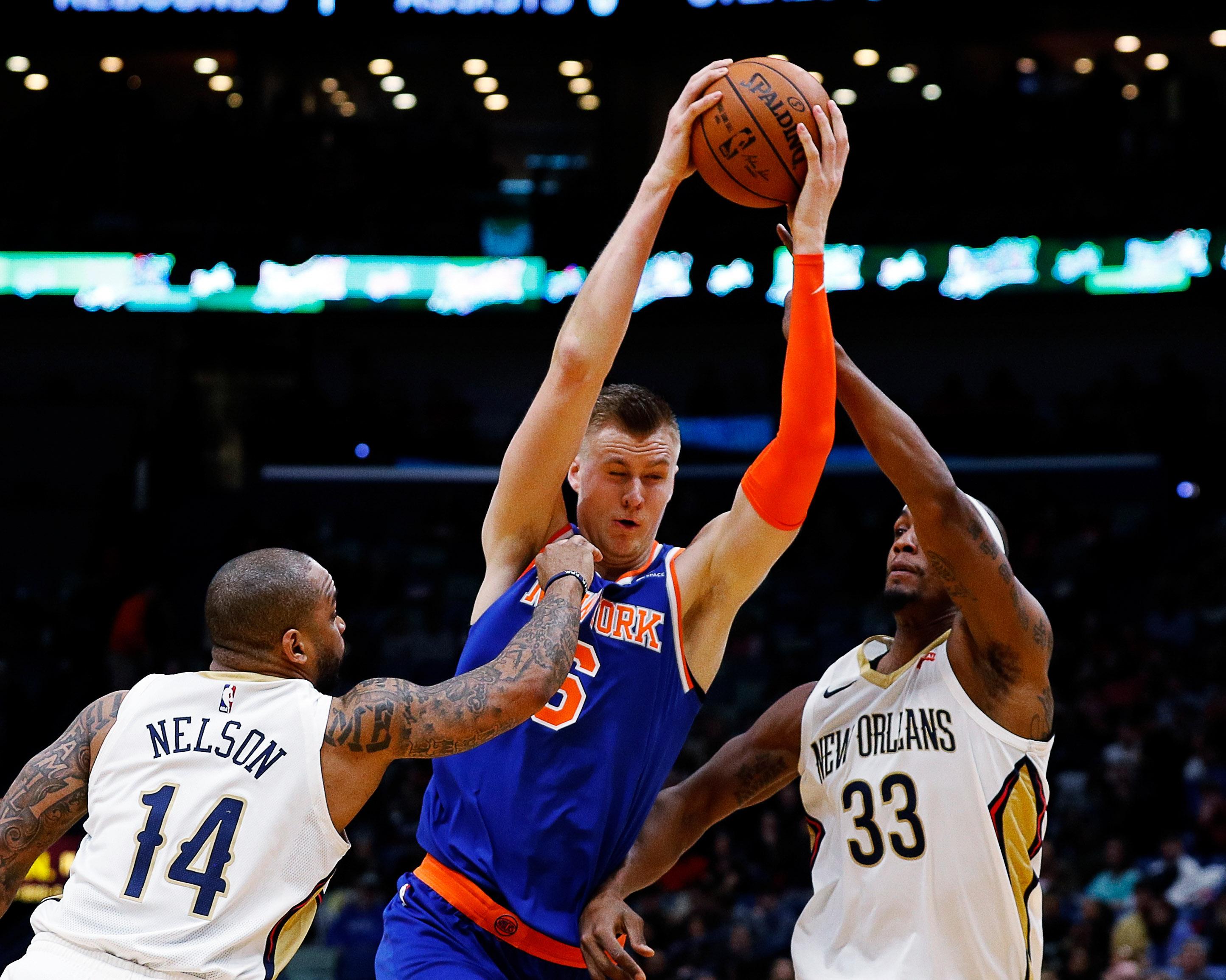 Kristaps Porzingis having difficulty adjusting to life as Knicks' star