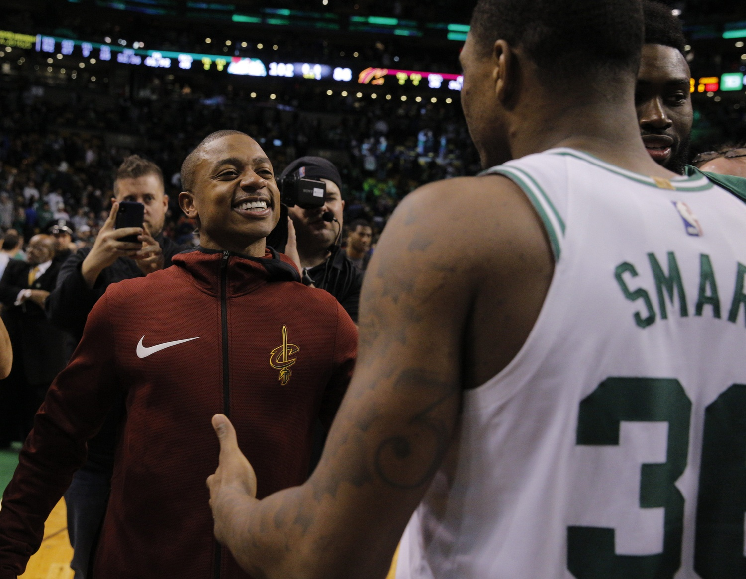Ainge has no problem with an IT tribute video on Paul Pierce's night