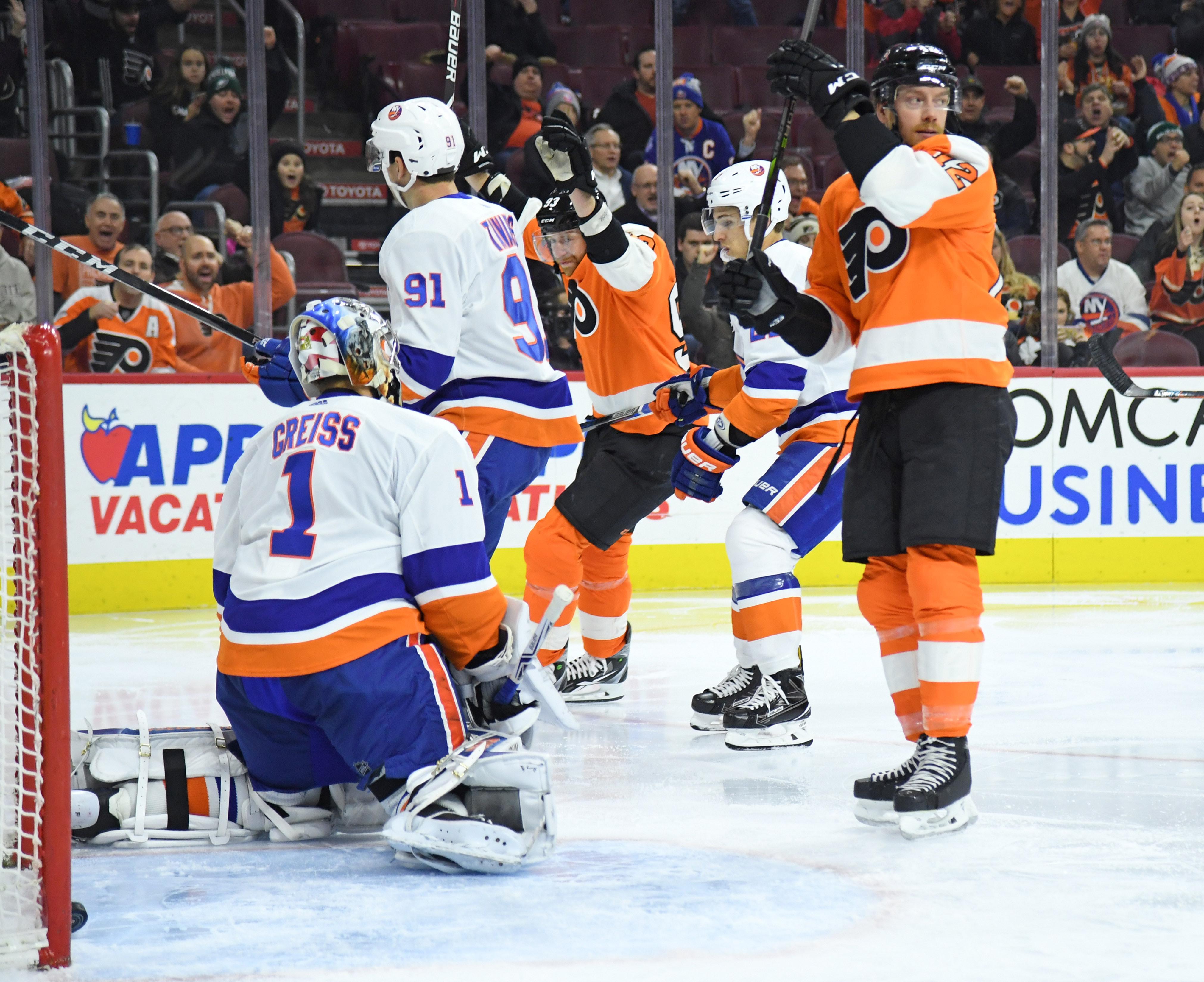 Isles Insights: Islanders comeback falls short in loss to Flyers