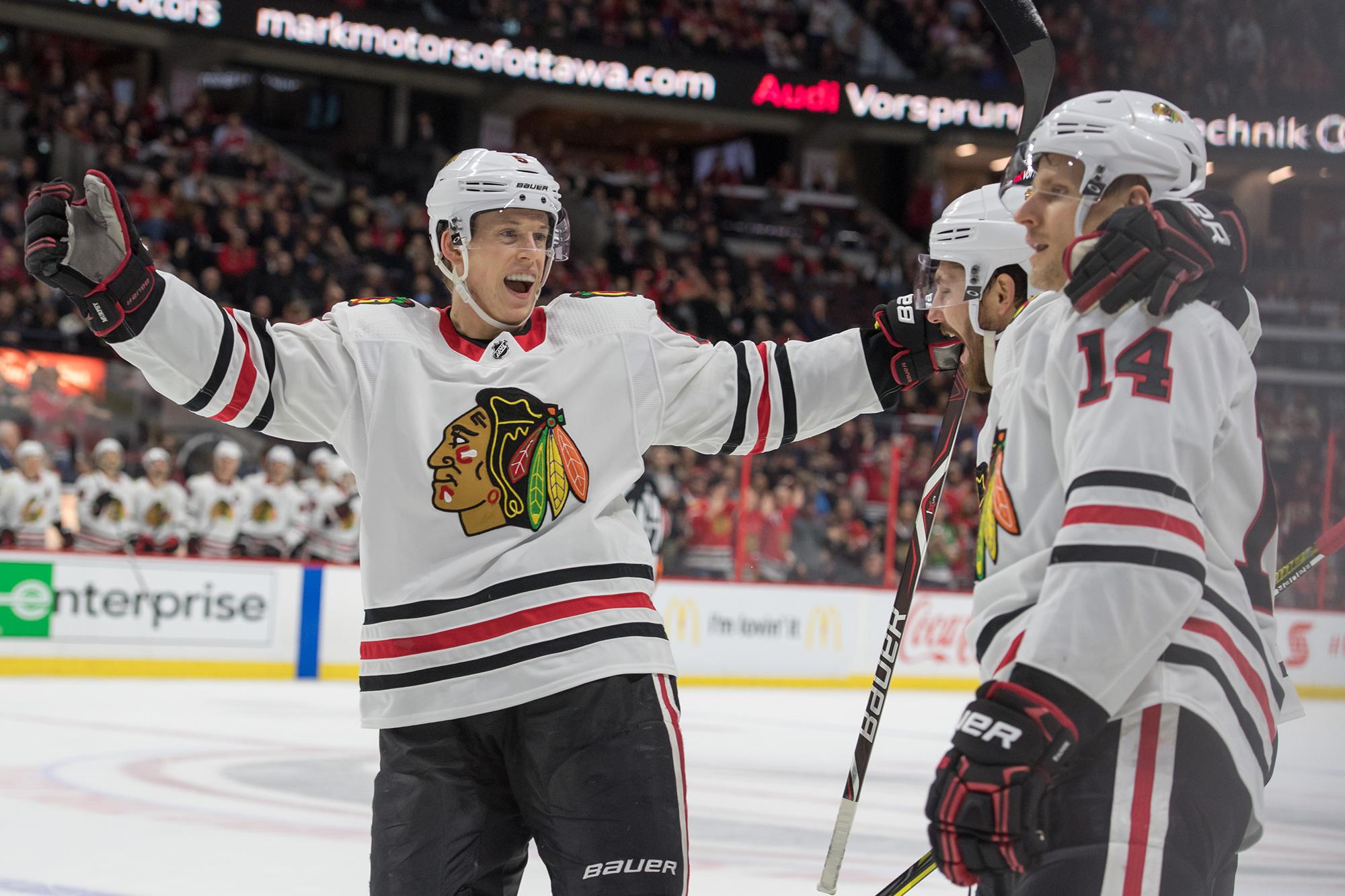 Chicago Blackhawks in decent shape as Crawford nears return