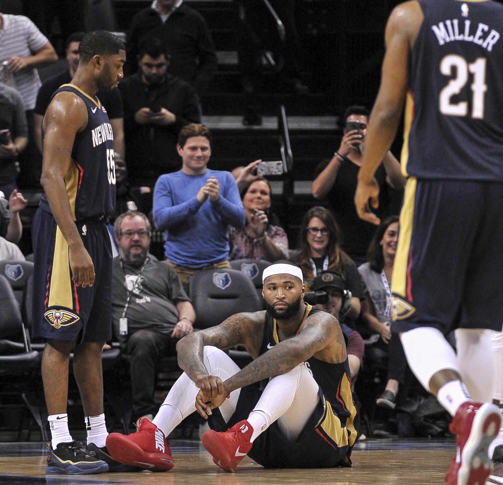 Pelicans Lose 105-102 Against A Struggling Memphis Grizzle Club, Drop Back To 500 Again