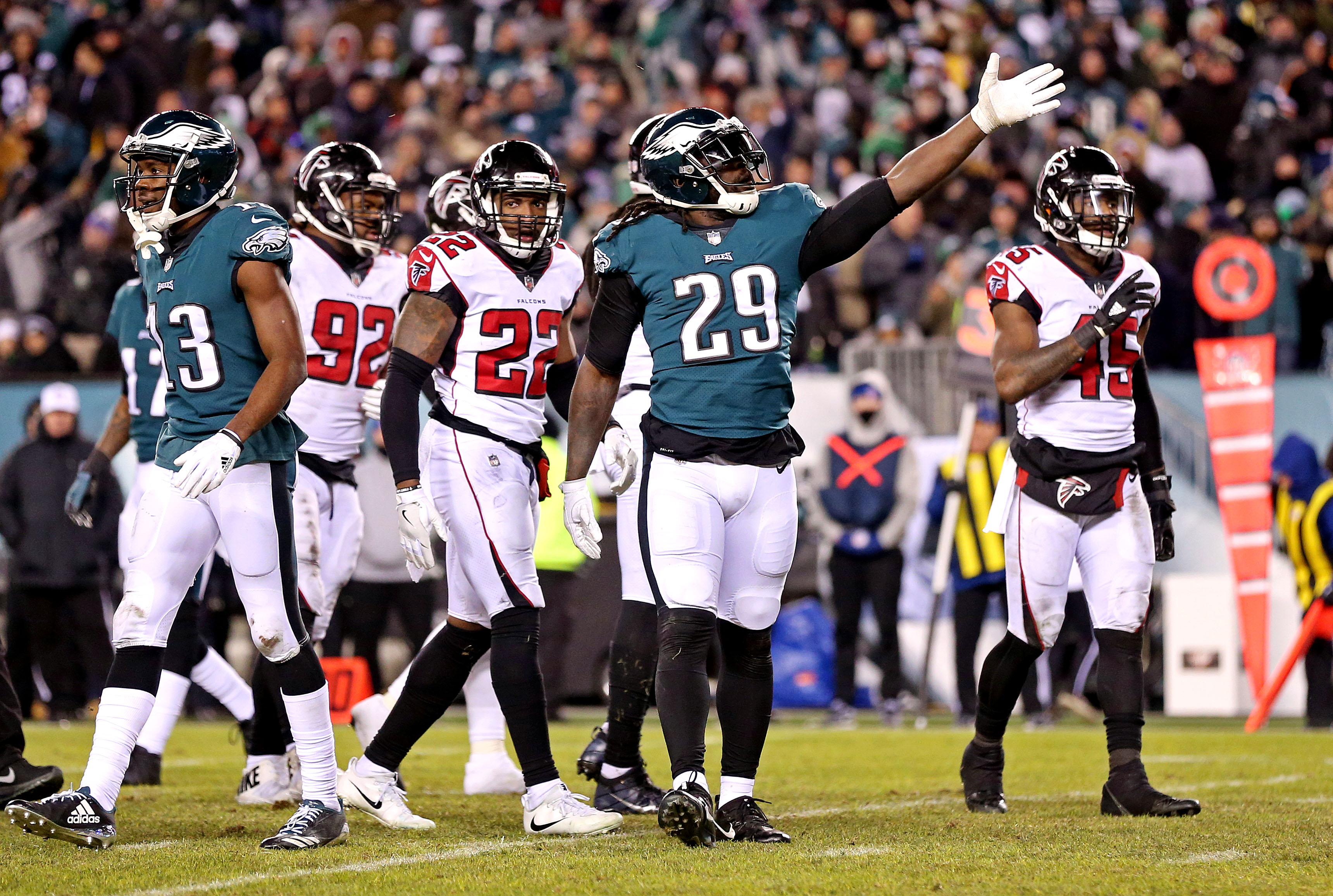 Playoff Divisional Round Wrap-Up: Philadelphia Eagles vs. Atlanta Falcons