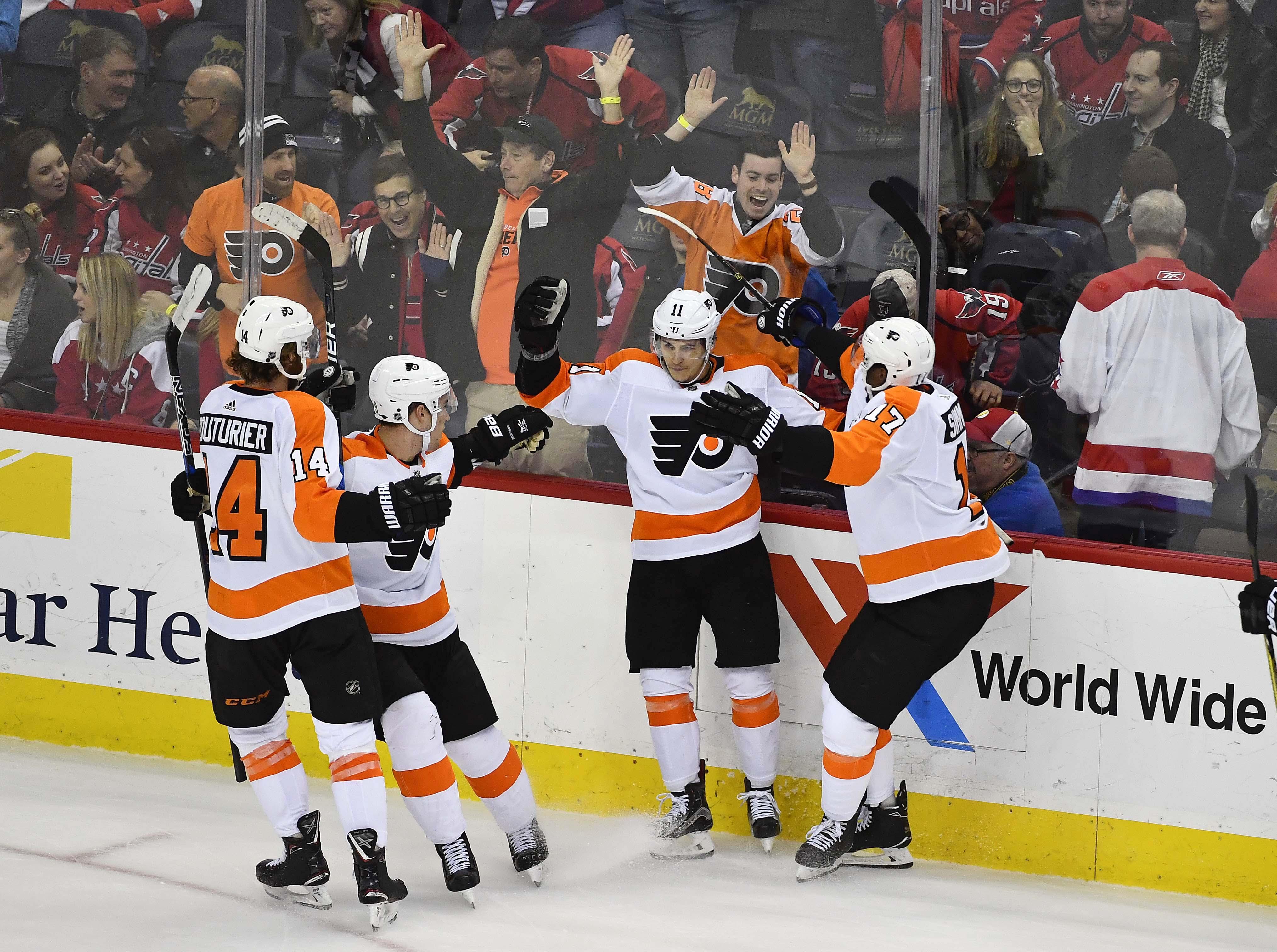 Five takeaways from the Flyers' 2-1 win in OT over Washington